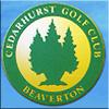 CedarhurstGolfClub Website